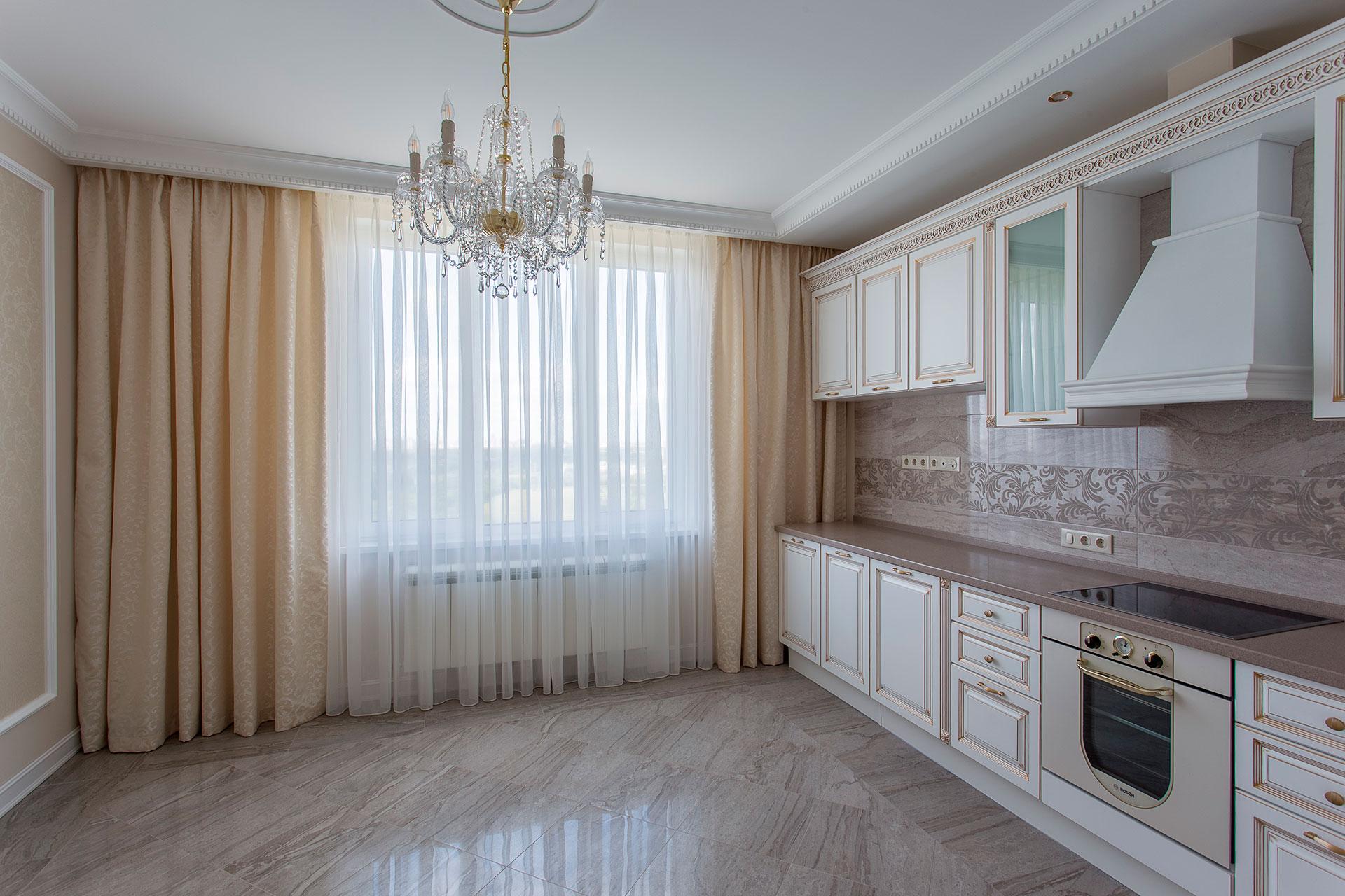 Ремонт двухкомнатной квартиры в ЖК Мосфильмовский
