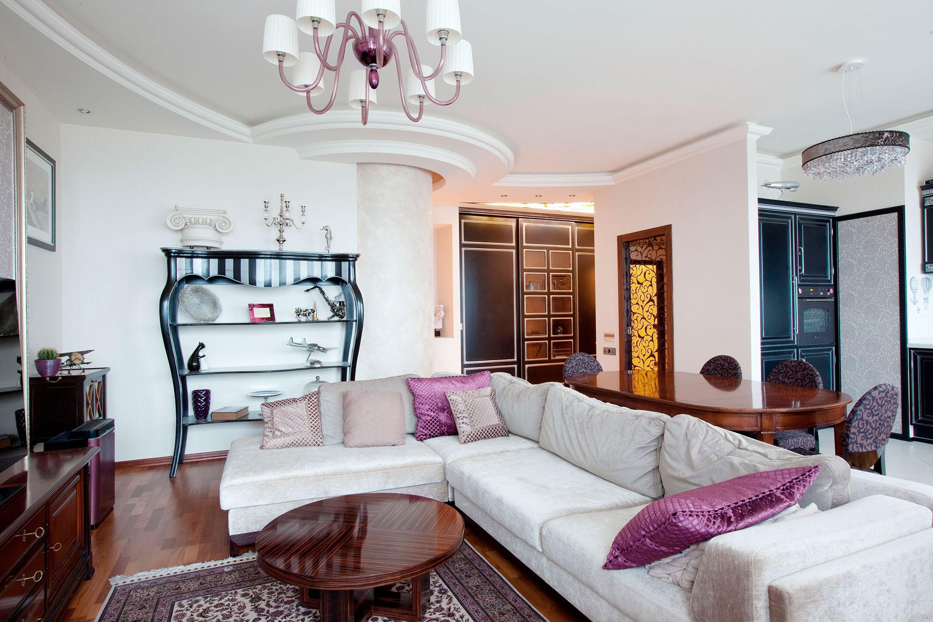 Ремонт квартиры в стиле Арт-Деко