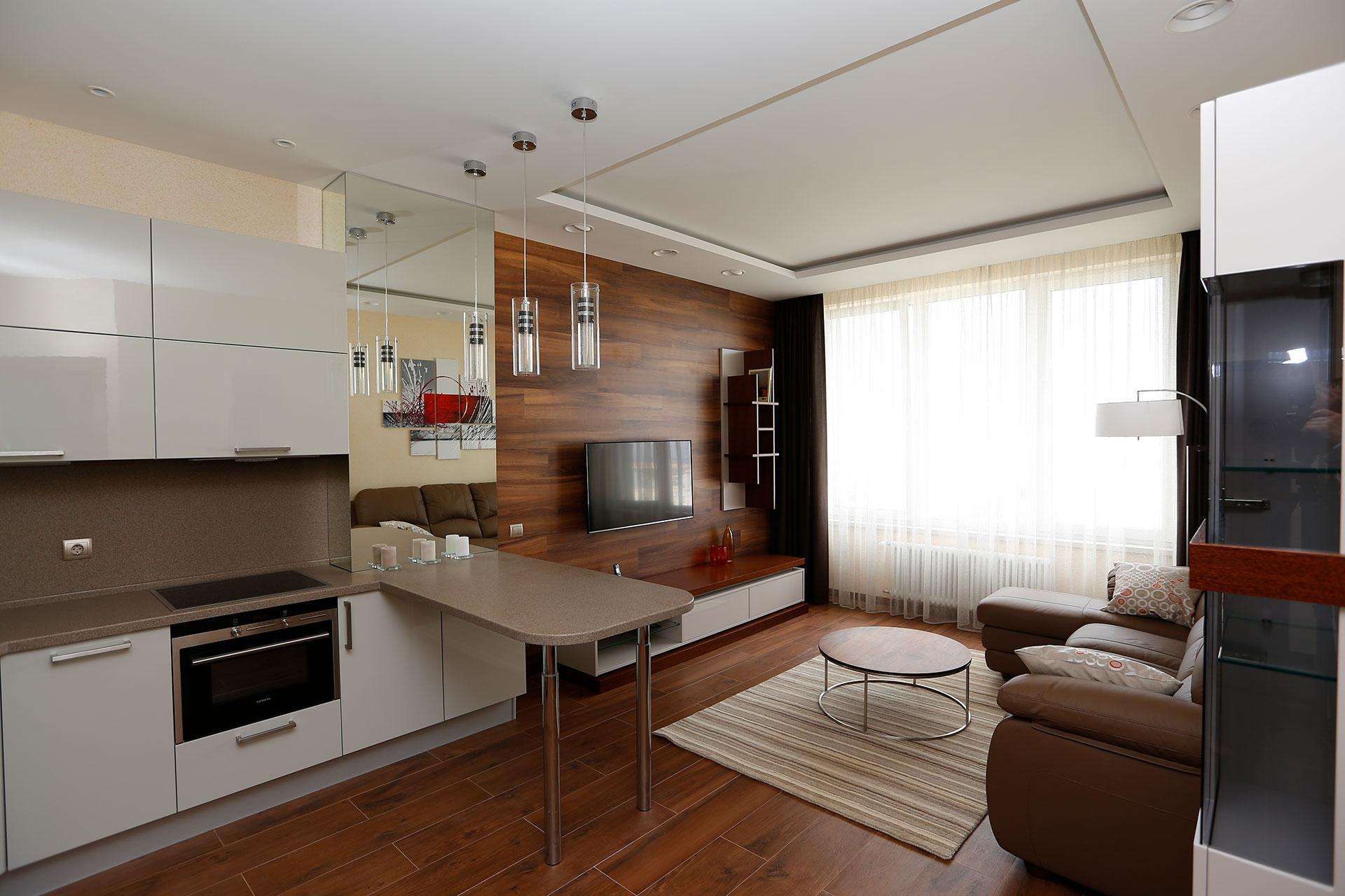 Внутренняя отделка однокомнатной квартиры