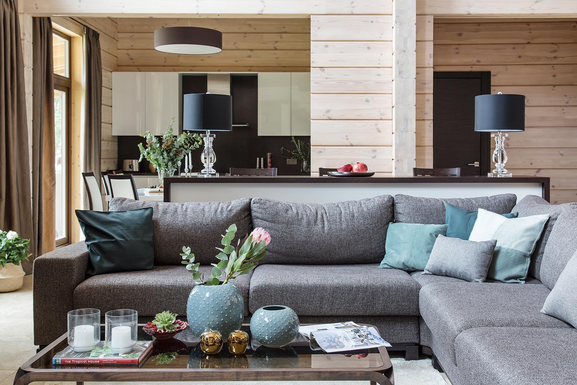 Дизайн интерьера загородного дома в стиле минимализм