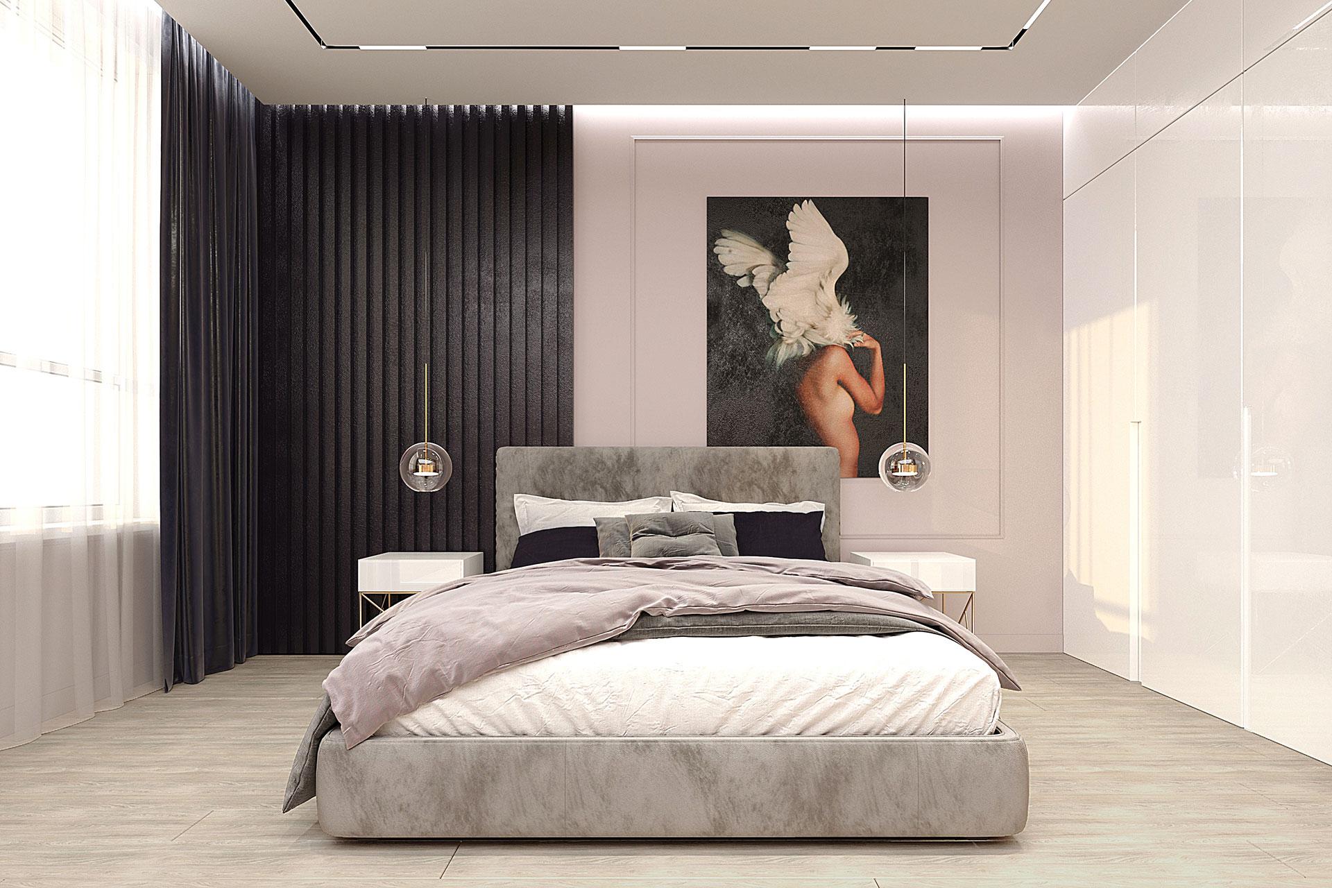 Дизайн интерьера квартиры в ЖК Сердце столицы