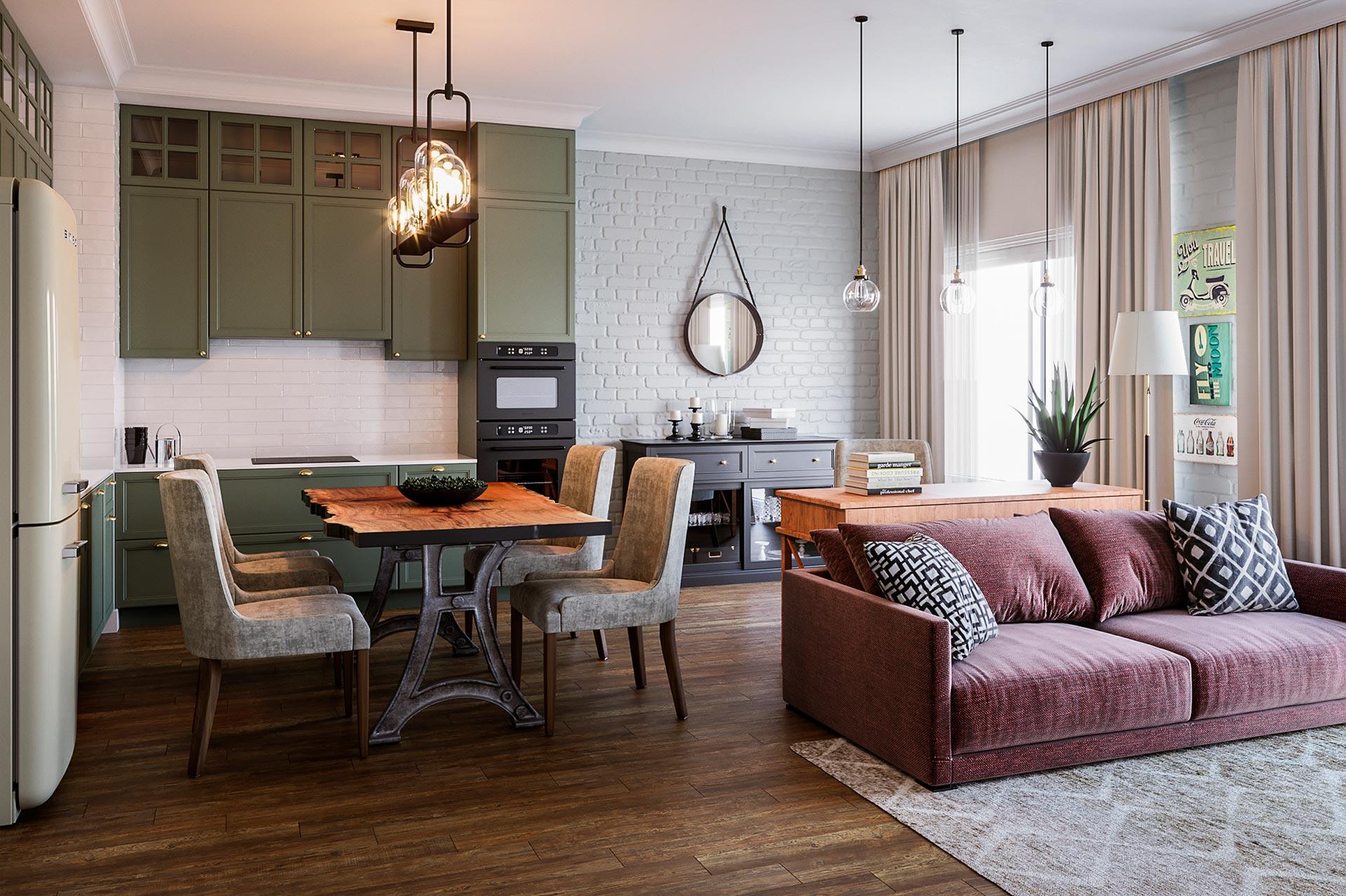 Дизайн интерьера квартиры в ЖК 1147