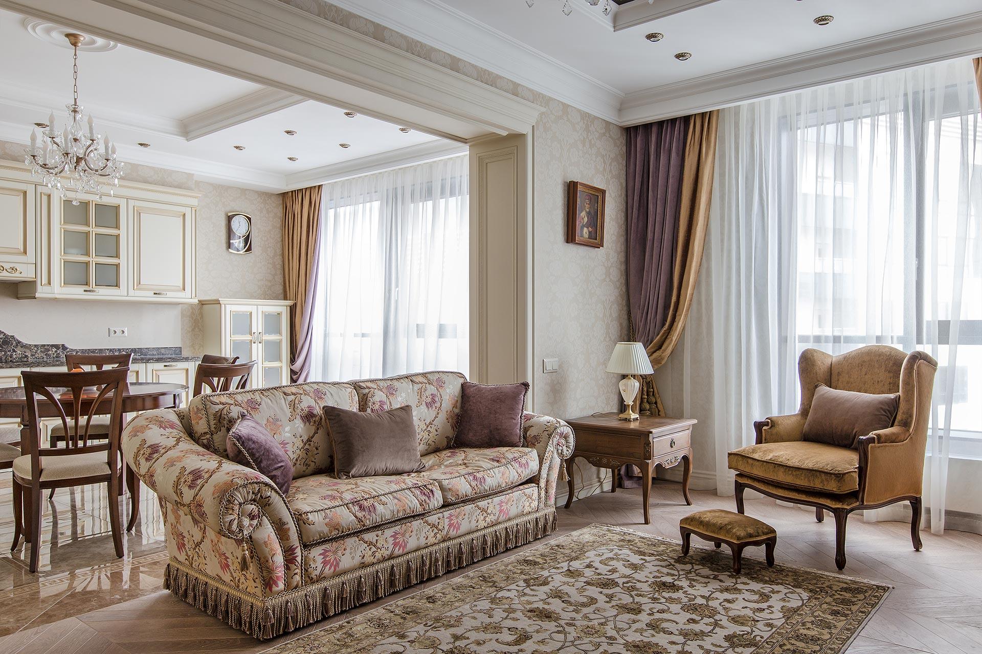 Дизайнерский ремонт квартиры в ЖК Дыхание