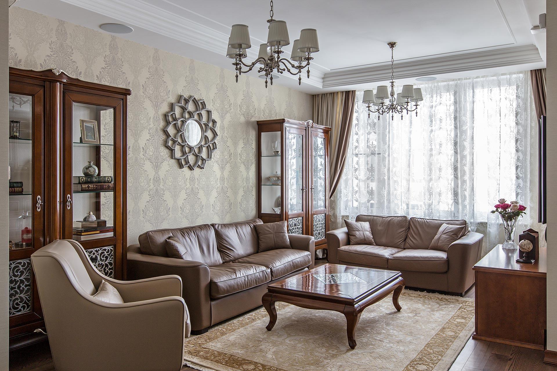Дизайнерский ремонт квартиры в ЖК Наследие