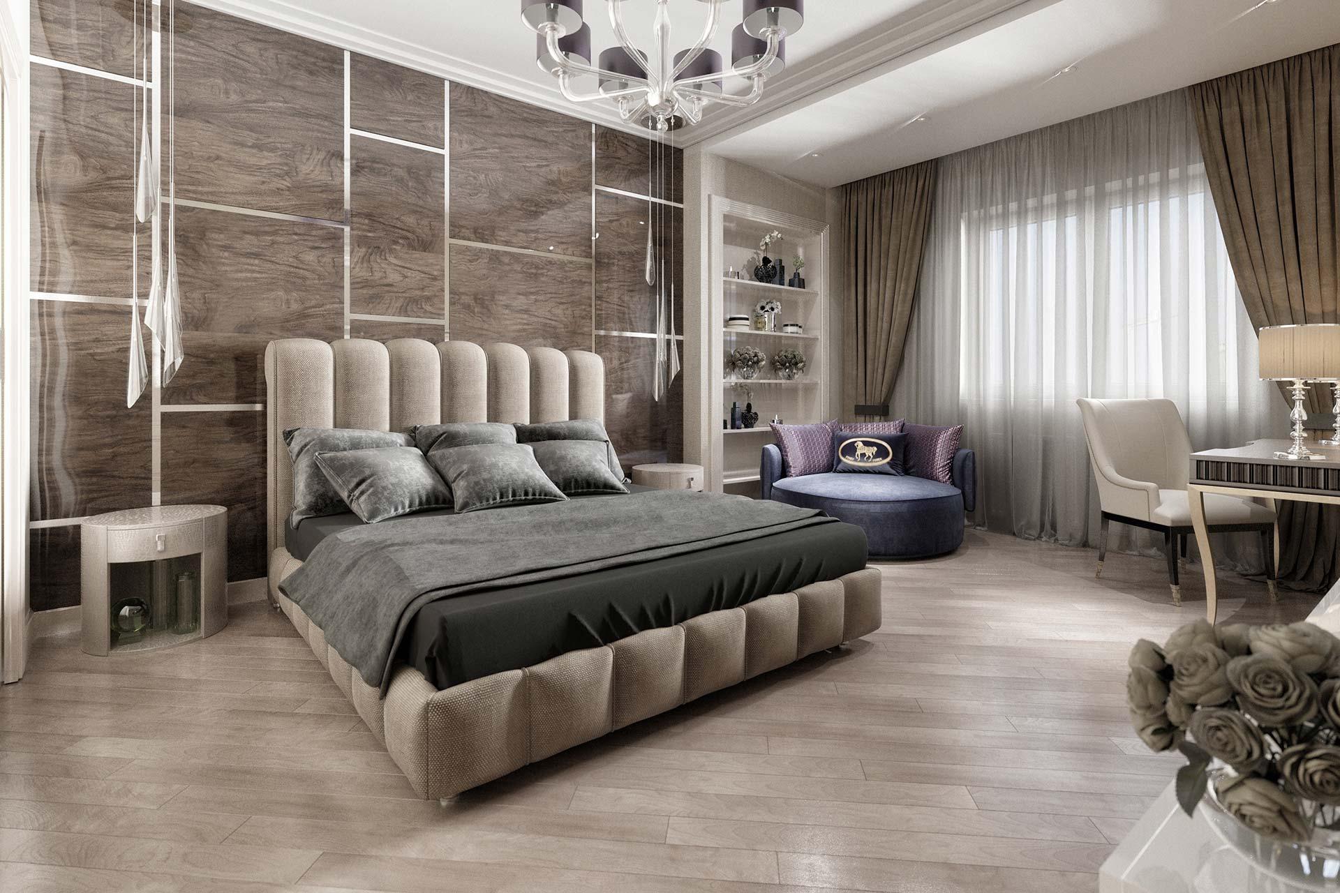 Дизайн двухкомнатной квартиры в ЖК Мосфильмовский