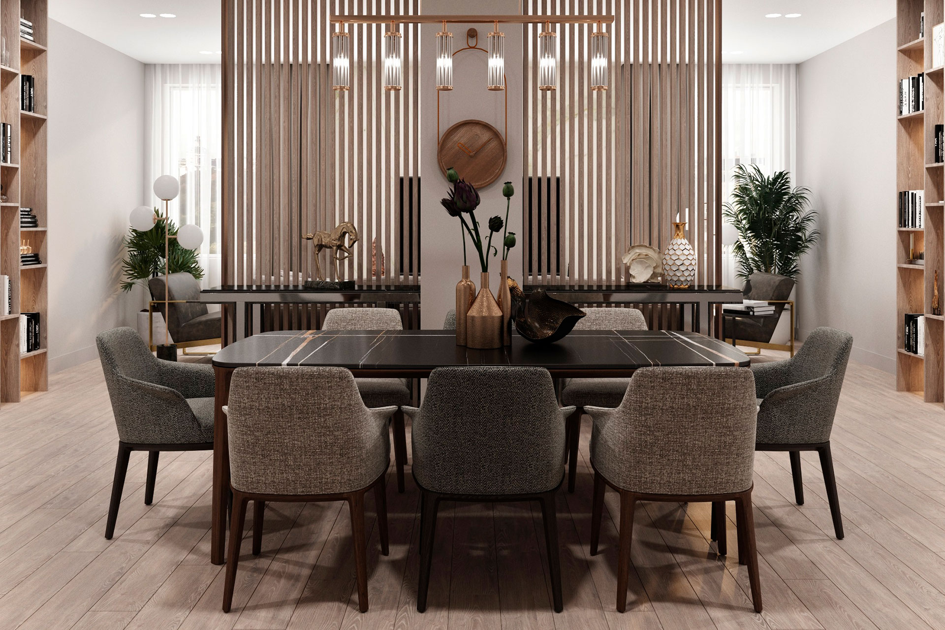 Дизайн интерьера квартиры на Охотном Ряду | Современный стиль