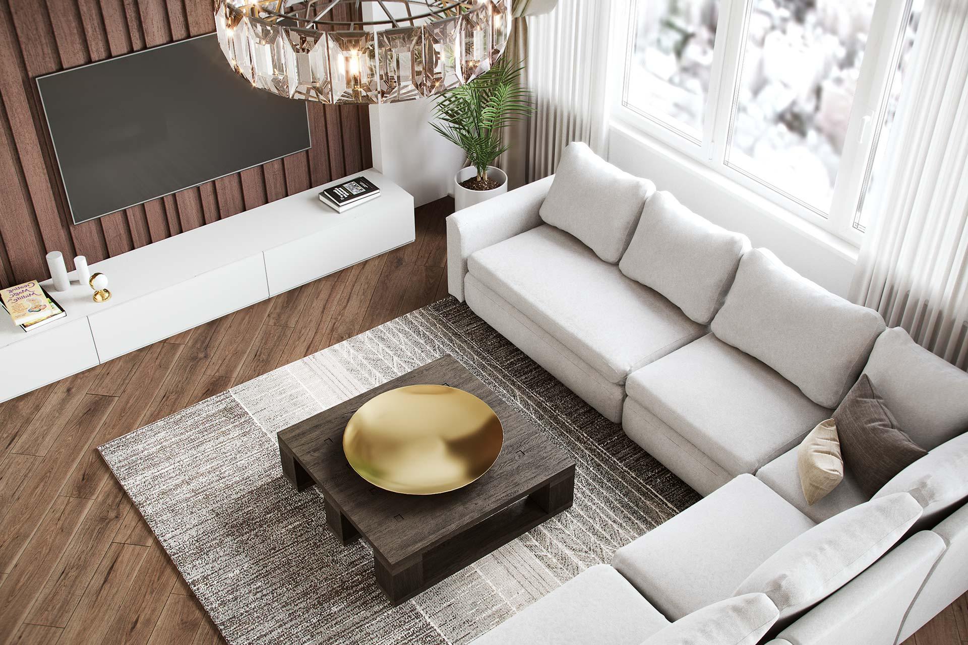 Дизайн интерьера 3-х комнатной квартиры в ЖК Лица | Современный стиль