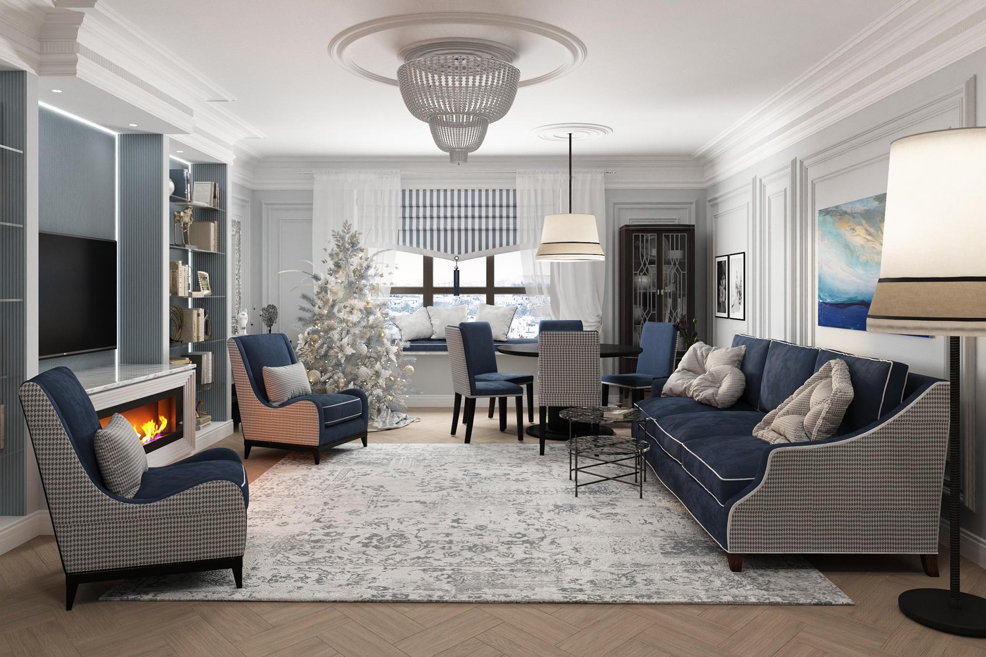 Дизайн интерьера квартиры в ЖК Дыхание