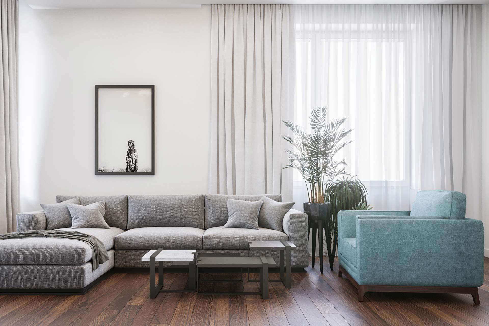 Дизайн интерьера 3-х комнатной квартиры в ЖК Достояние | Современный стиль
