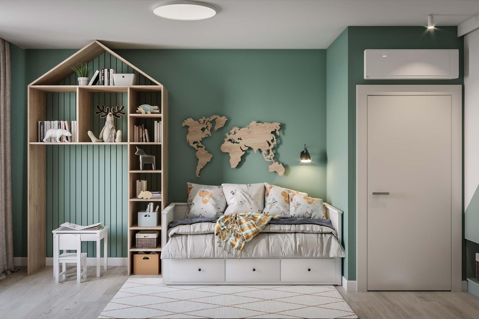 Дизайн интерьера 3-комнатной квартиры в ЖК Грин парк | Заказать проект в Green park
