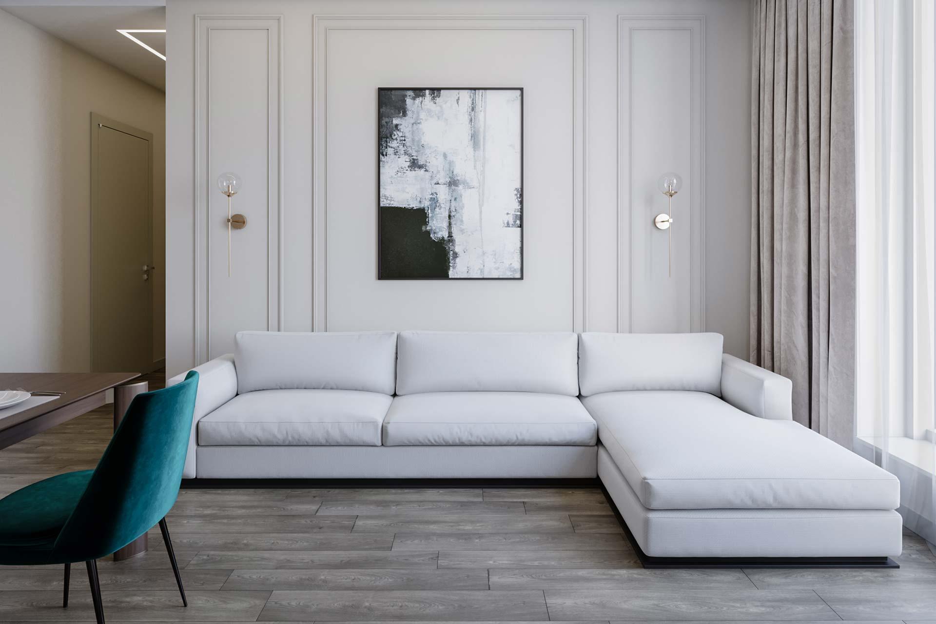 Дизайн интерьера квартиры в ЖК Новочеремушкинская 17