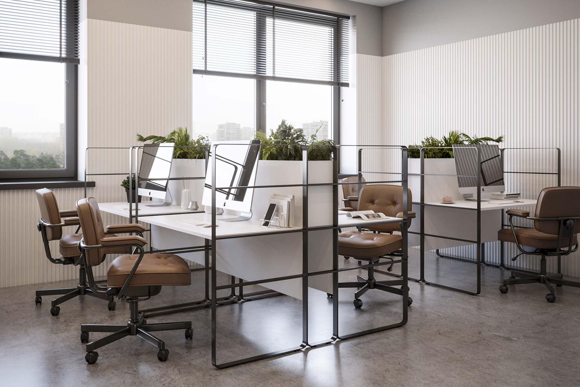 Дизайн интерьера офиса в ЖК Пресня Сити