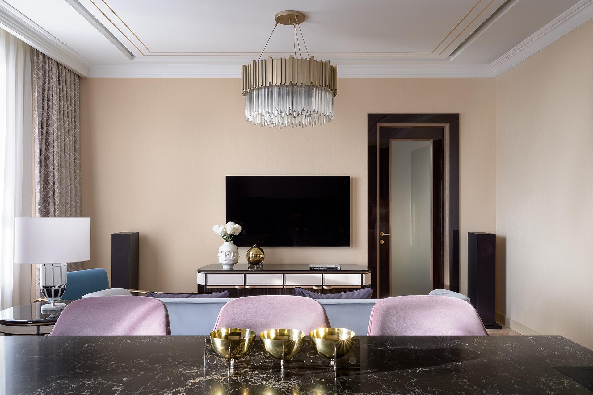 Дизайнерский ремонт квартиры в ЖК Сердце Столицы
