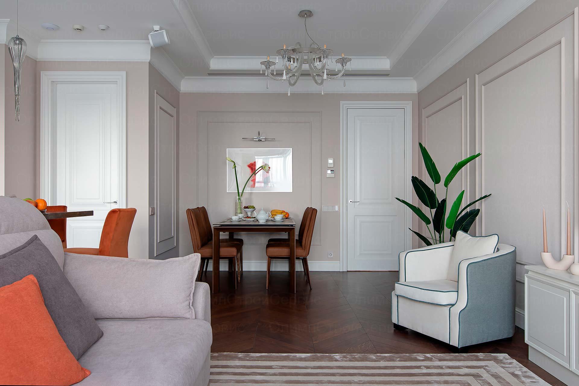 Ремонт 4-комнатной квартиры в ЖК Розмарин | Заказать ремонт квартиры