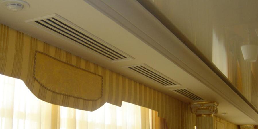 Система кондиционирования канального типа для квартиры