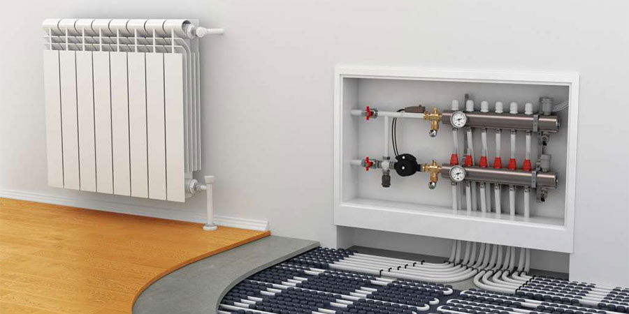 Коллекторная система отопления квартиры