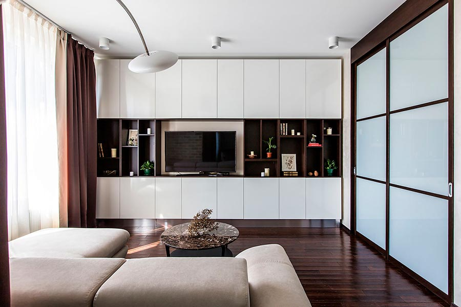Дизайн-проект квартиры студии | Фото №3