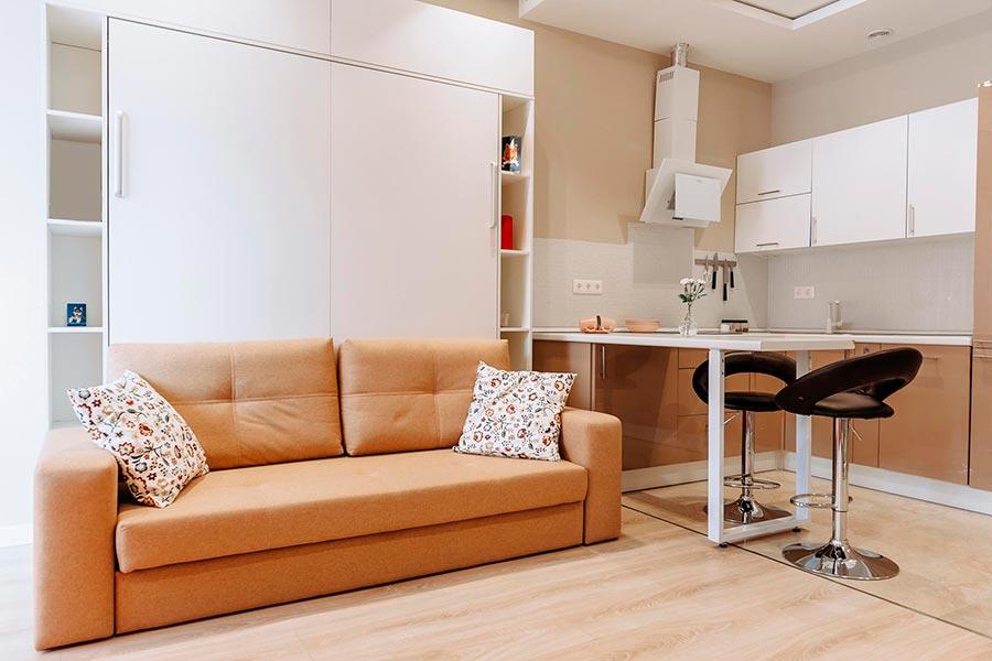 Дизайн-проект квартиры студии | Фото №4