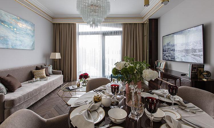 1-комнатная квартира в МФК Balchug Residence | Фото №3