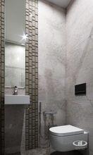 Гостевой туалет | Современный стиль | 3D визуализация