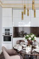 Кухня-гостиная в стиле Ар-Деко