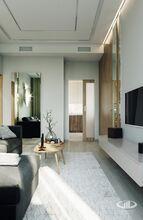 Гостиная | Современный стиль | 3D визуализация