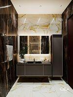 Ванная комната четырёхкомнатной квартиры в современном стиле