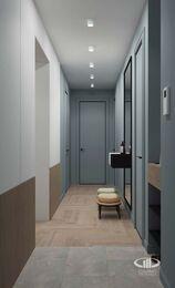 Дизайн интерьера четырехкомнатной квартиры в ЖК Balchug Viewpoint | 3d-визуализация №17