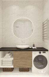 Дизайн интерьера квартиры в ЖК Сердце столицы | 3D-визуализация №10