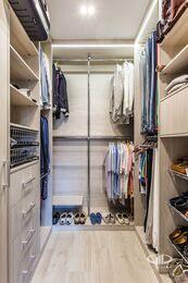 Ремонт однокомнатной квартиры в ЖК Наследие | Гардеробная комната