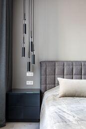 Ремонт однокомнатной квартиры в ЖК Наследие | Спальня | Фото №5