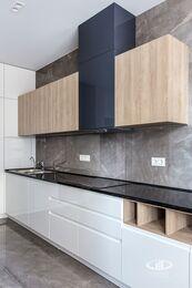 Ремонт однокомнатной квартиры в ЖК Наследие | Кухня-гостиная | Фото №2