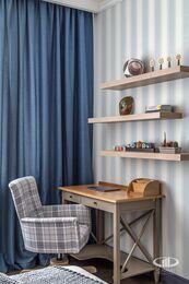 Дизайн и ремонт квартиры в ЖК Алые Паруса в классическом стиле | Фото №19