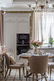 Дизайн и ремонт квартиры в ЖК Алые Паруса в классическом стиле | Фото №7