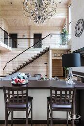 Дизайн интерьера загородного дома в стиле минимализм | Фото №12