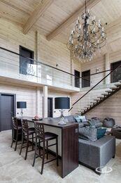 Дизайн интерьера загородного дома в стиле минимализм | Фото №5