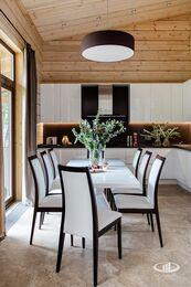 Дизайн интерьера загородного дома в стиле минимализм | Фото №9