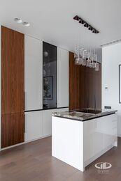 Дизайнерский ремонт апартаментов в современном стиле | Фото №11