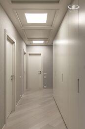 Ремонт трехкомнатной квартиры в современном стиле | ЖК Наследие | Фото №15