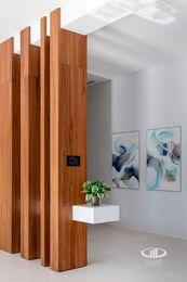 Внутренняя отделка загородного дома в стиле Минимализм | Фото №5