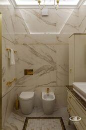 Дизайнерский ремонт квартиры в стиле Ар-Деко ЖК Дыхание   Фото №23