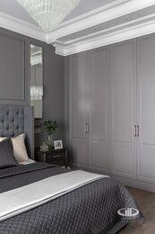 Дизайнерский ремонт 4-комнатной квартиры 140 кв.м. фото №12 | Спальня