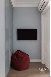 Дизайнерский ремонт 4-комнатной квартиры 140 кв.м. фото №17 | Детская комната для двух мальчиков