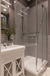 Дизайнерский ремонт 4-комнатной квартиры 140 кв.м. фото №25 | Душевая