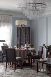 Дизайнерский ремонт 4-комнатной квартиры 140 кв.м. фото №5 | Кухня-гостиная