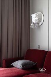 Дизайнерский ремонт квартиры в ЖК Садовые Кварталы | Фото №12 | Кухня-гостиная