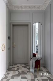 Дизайнерский ремонт квартиры в ЖК Садовые Кварталы | Фото №15 | Прихожая