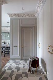 Дизайнерский ремонт квартиры в ЖК Садовые Кварталы | Фото №16 | Прихожая