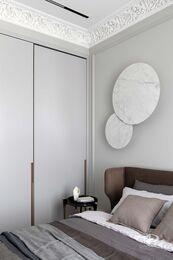 Дизайнерский ремонт квартиры в ЖК Садовые Кварталы | Фото №21 | Спальня