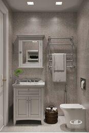 Дизайн интерьера 3-х комнатной квартиры в ЖК Лица | Современный стиль | 3d-визуализация №25